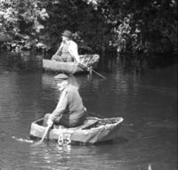 Coracles de la Rivi�re Teifi, Pays de Galles 1972