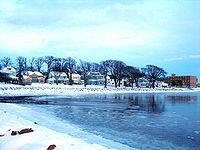 Charlottetown (Canada) en hiver.