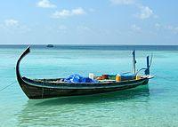 Un doni aux Maldives