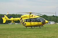 Un Eurocopter EC 145 de l'ADAC.