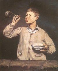 Les bulles de savon d'Édouard Manet (1867).