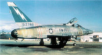 F-100 sur la base d'Etain en France durant la guerre froide