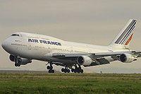 C'est l'un des deux 747-400 qu' Air France récupéra en rachetant UTA.