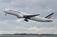Le F-GSPC est le 3e 777-200 d'Air France.