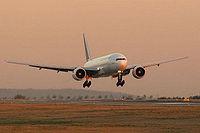 Le F-GSPD est le 4e 777-200 d'Air France.
