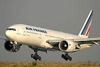 Le F-GSPF est le 6e 777-200 d'Air France.