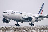 Le F-GSPH est le 8e 777-200 d'Air France.