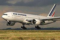 Le F-GSPK est le 11e 777-200 d'Air France.