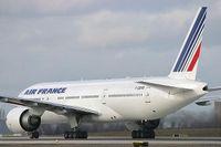 Le F-GSPM est le 13e 777-200 d'Air France.