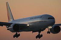 Le F-GSPV est le 22e 777-200 d'Air France.