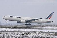 Le F-GSPX est le 23e 777-200 d'Air France.