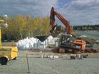 Enlèvement de déchets TFA