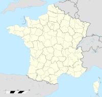 Localisation de Planoise en France