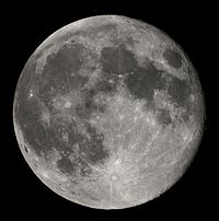 Photographie d'une Pleine-Lune