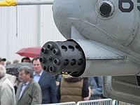 La gueule du célèbre canon du A-10