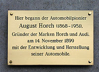 Tombe d'August Horch