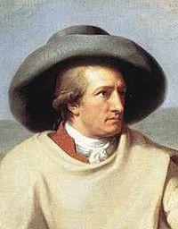 Détail du tableau Goethe dans la campagne romaine par Johann Heinrich Wilhelm Tischbein, 1787