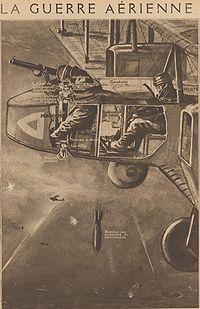 Comment un Gotha lançait des bombes