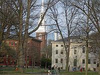 Harvard Yard à Cambridge, MA, USA