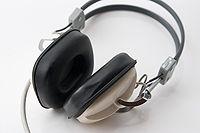 Un casque audio des années 1970