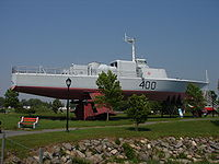 Hydroptère HMCS Bras d'Or 400