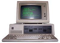 Un IBM PC 5150 datant de 1981, Syst�me d'exploitation IBM-DOS 2.0