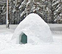 Un autre igloo.