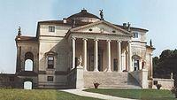 La villa Rotonda, Italie, Vicenza, 1567-1570, Villa de Andrea Palladio.