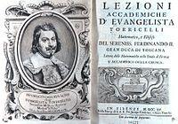 Lezioni accademiche (1715)