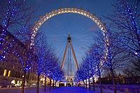 London Eye, un des symbole du Londres moderne