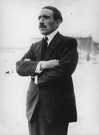 Louis Renault en 1926, fondateur de l'empire industriel Renault en 1899.