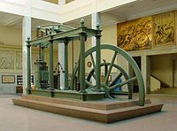 Machine à vapeur de Watt, Université polytechnique de Madrid.