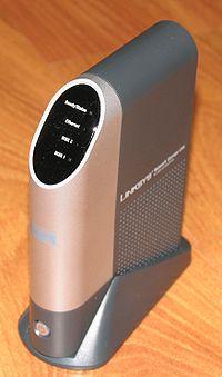 Unité de stockage en réseau (NAS) pour disques durs USB 2.0 NSLU2