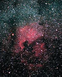 Photographie du ciel profond (Nébuleuse Nord Amérique)