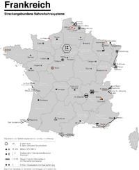 Réseaux des tramways de France