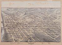 Dallas en 1872