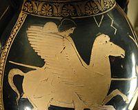Bell�rophon mont� sur P�gase, v.�440 av. J.-C., mus�e du Louvre