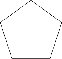 Pentagone r�gulier