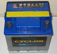 Batterie d'automobile