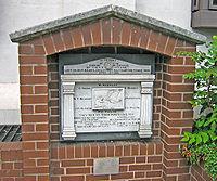 Le Titanic Musicians Memorial dédié aux membres de l'orchestre tous morts dans le naufage.