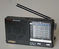 Récepteur de radio de 2000