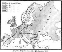 Les chemins de fer en Europe en 1896
