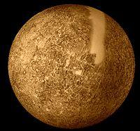 Mosaïque de photos de Mercure prises par Mariner 10