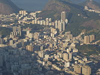 Paysage urbain de Rio