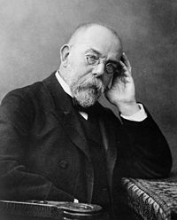 Portrait de Robert Koch (1843-1910).