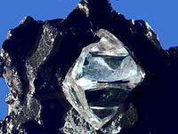 Le diamant, une des formes cristallines les plus recherchées du carbone