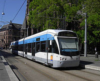 Le tram-train de Sarrebruck