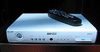 Récepteur de télévision numérique HD italien.