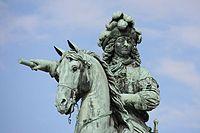 Statue de Louis XIV au Château de Versailles