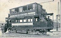 Tramway électrique de la compagnie CGPT